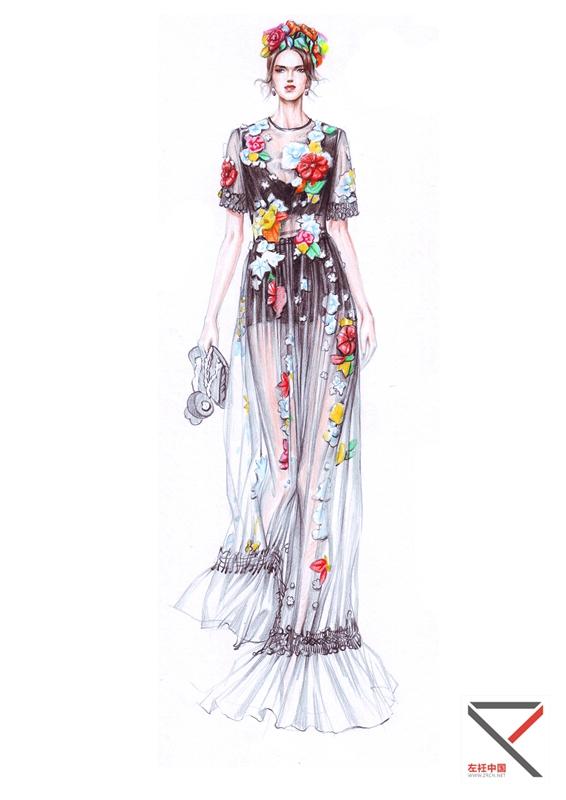 现任教于北京服装设计学院服装专业.
