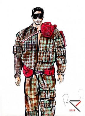电脑效果图-服装效果图-服装培训-中国原创服装设计师